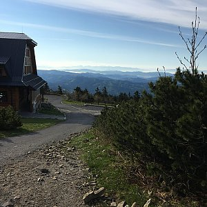 Jarek na vrcholu Lysá hora (25.5.2019 7:10)