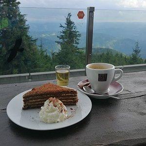 Petra Kosarkova na vrcholu Lysá hora (19.8.2021 16:42)