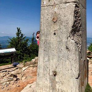 Nicole na vrcholu Lysá hora (12.6.2019 11:01)