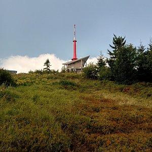 Iva Purmenská na vrcholu Lysá hora (25.8.2021 13:56)