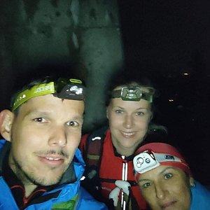 Kateřina Turčeková na vrcholu Lysá hora (28.8.2021 4:00)