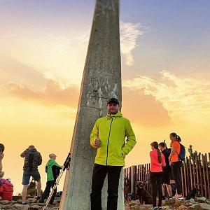 Tomáš Mucha na vrcholu Lysá hora (3.9.2021 18:30)