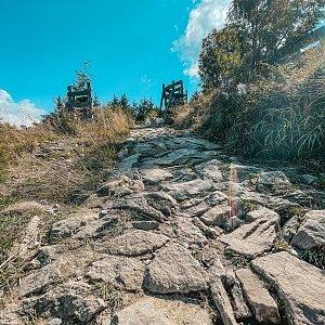 Pavlaja na vrcholu Lysá hora (4.9.2021 10:31)