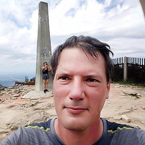 Mato na vrcholu Lysá hora (27.6.2019 14:05)