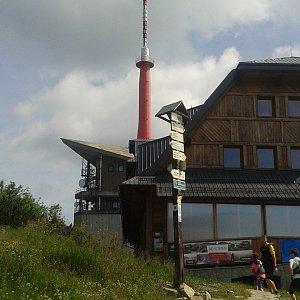 ŠenovKK na vrcholu Lysá hora (29.6.2019 10:45)