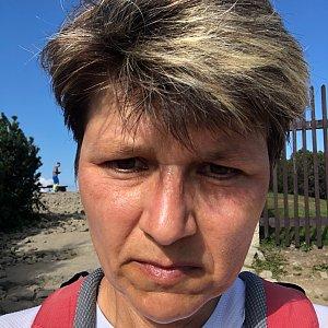 Radka Dubská na vrcholu Lysá hora (14.9.2021 10:19)