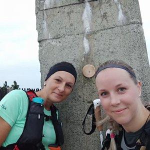 Kateřina Turčeková na vrcholu Lysá hora (16.9.2021 6:00)