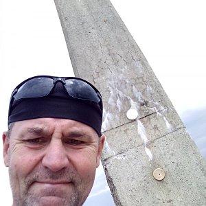 Li Be na vrcholu Lysá hora (16.9.2021 13:48)