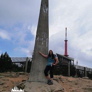 Berusaaa12345 na vrcholu Lysá hora (7.7.2019 11:55)