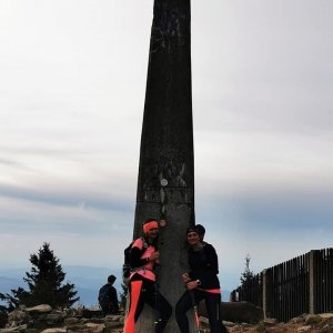 Kateřina Turčeková na vrcholu Lysá hora (23.9.2021 18:00)
