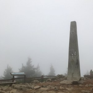 Boris na vrcholu Lysá hora (29.9.2021 18:03)