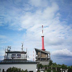 Petra Kosarkova na vrcholu Lysá hora (12.7.2019 17:28)