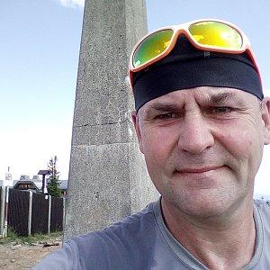 Li Be na vrcholu Lysá hora (15.7.2019 15:27)
