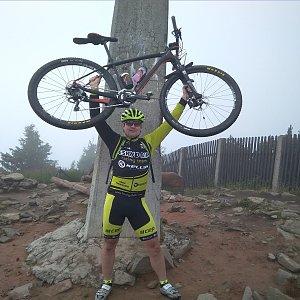 Vítězslav Vrána na vrcholu Lysá hora (14.7.2019 14:35)