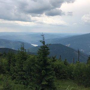 Terez Valčíková na vrcholu Lysá hora (19.7.2019 14:00)