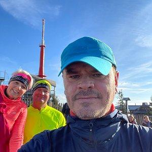 Kubík na vrcholu Lysá hora (17.10.2021 9:45)