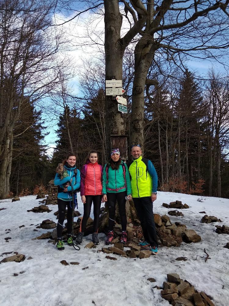 Kristýna Tarkotová na vrcholu Tanečnice (30.3.2018 11:41)