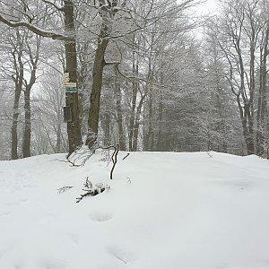 Petr Pepe Peloušek na vrcholu Tanečnice (19.1.2020 12:22)
