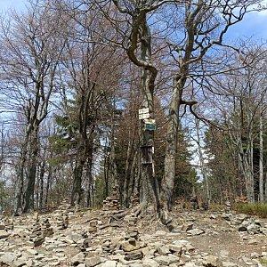 Milan Meravy na vrcholu Tanečnice (30.4.2020 13:16)