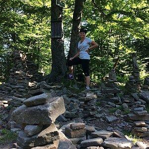 PePa na vrcholu Tanečnice (5.7.2018 9:28)
