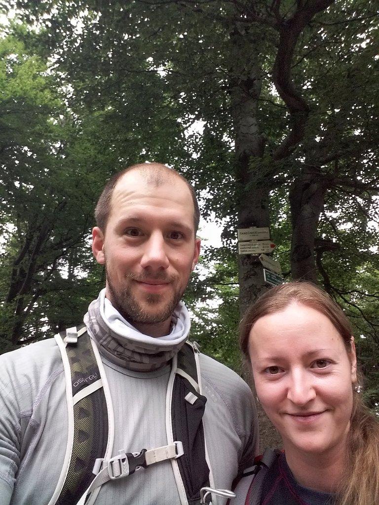 Paja&Tom na vrcholu Tanečnice (7.7.2018 13:05)