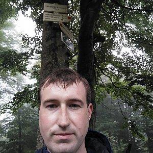 Venca na vrcholu Tanečnice (11.7.2018 15:32)