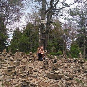 Michelle Sýkorová na vrcholu Tanečnice (27.6.2020 14:15)