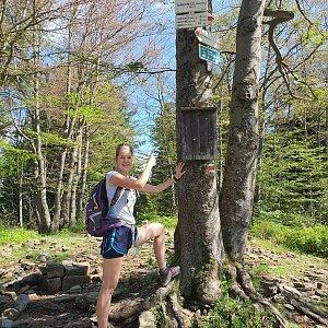 Hana Lančová na vrcholu Tanečnice (30.6.2020 10:08)