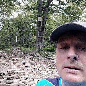 Roman Grebenar na vrcholu Tanečnice (29.7.2020 11:07)