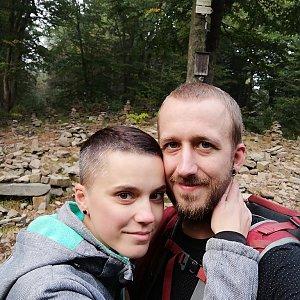 Michaela Hilscherová na vrcholu Tanečnice (8.9.2018 17:53)