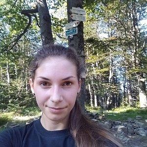 Daniela na vrcholu Tanečnice (15.9.2020 10:32)