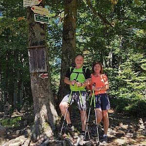 Fido a Myszka na vrcholu Tanečnice (9.9.2018 13:06)