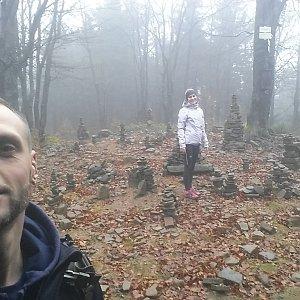 Jan Čech na vrcholu Tanečnice (29.10.2018 14:12)