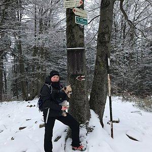 Szegidewiczová Alexandra na vrcholu Tanečnice (26.12.2020 14:52)