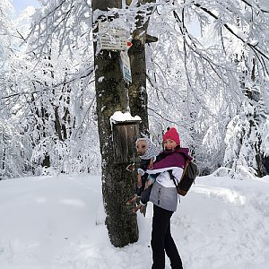 Michelle Sýkorová na vrcholu Tanečnice (31.1.2021 13:40)