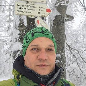 Pery na vrcholu Tanečnice (29.1.2019 9:03)