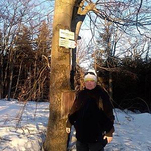 stusve na vrcholu Tanečnice (23.2.2019 16:05)