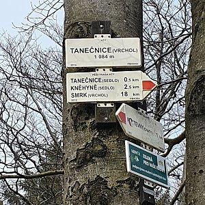 Peťulik na vrcholu Tanečnice (1.5.2021 15:02)