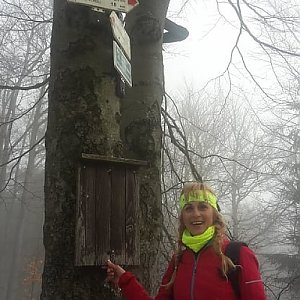 Yfča na vrcholu Tanečnice (24.3.2019 10:25)