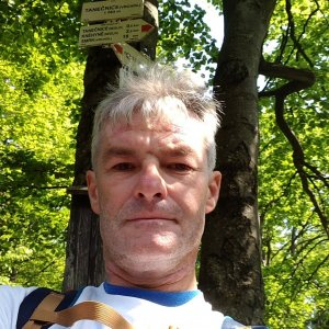 Jaroslav Macura na vrcholu Tanečnice (12.6.2021 9:51)
