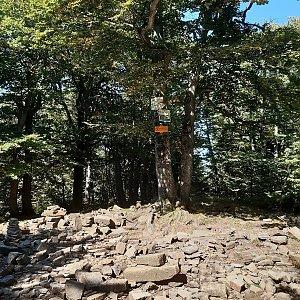 Dzanny na vrcholu Tanečnice (11.9.2021 14:04)