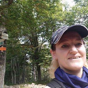 Ivana Urbánková na vrcholu Tanečnice (15.9.2021 13:28)