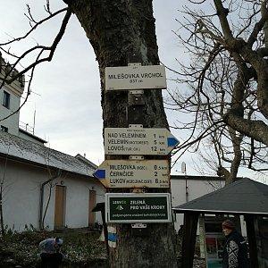 Jiří Tomaštík na vrcholu Milešovka (21.11.2020 12:55)