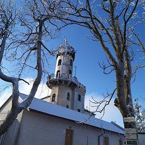 Lucie na vrcholu Milešovka (30.12.2020 11:29)