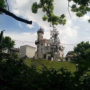 Anna na vrcholu Milešovka (15.6.2021)