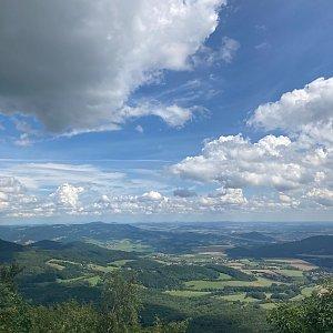 vanko na vrcholu Milešovka (11.8.2021 12:30)