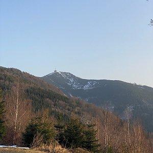 wewisek na vrcholu Tanečnice (Malenovice) (25.2.2021 19:27)