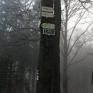 Jarek na vrcholu Kykulka (13.12.2020 7:55)