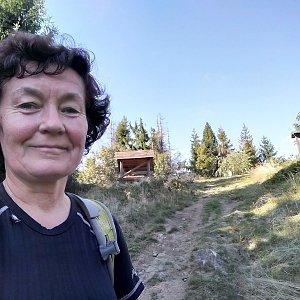 Anna na vrcholu Girová (14.9.2019 15:13)