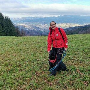 Petr Šrámek na vrcholu Girová (15.11.2020 16:15)
